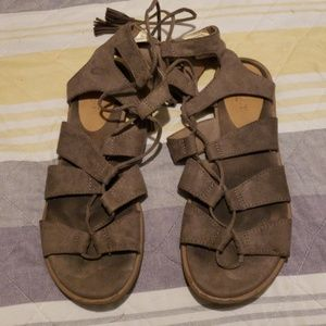 Old navy tie up sandals